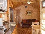 View larger image of Inside one of the camping cabins at HERSHEYPARK CAMPING RESORT image #7