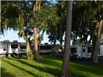 View larger image of RVs and trailers at campground at SANLAN RV  GOLF RESORT image #7