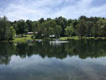View larger image of Lake view at COOPERSTOWN SHADOW BROOK CAMPGROUND image #2