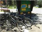 View larger image of 2 bicycles at the kiosk at DIAMOND LAKE RESORT  RV PARK image #10