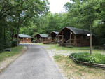 View larger image of Log cabins with decks at HOT SPRINGS NATIONAL PARK KOA image #1