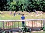 View larger image of Kids swimming in pool at OAK HAVEN FAMILY CAMPGROUND image #3