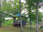 View larger image of Gazebo at OAK HAVEN FAMILY CAMPGROUND image #6