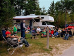 MACKINAW MILL CREEK CAMPING at MACKINAW CITY MI