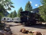 View larger image of One of the gravel RV sites at GLENWOOD CANYON RESORT image #4