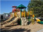 View larger image of Playground with large swing set at ANDERSON CAMP image #9