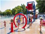 View larger image of Kids playing at the waterpark at OCEAN VIEW RESORT CAMPGROUND image #4