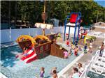 View larger image of Kids in the wading pool at the waterpark at OCEAN VIEW RESORT CAMPGROUND image #7