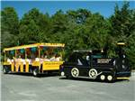 View larger image of Mini train at OCEAN VIEW RESORT CAMPGROUND image #8