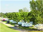 View larger image of Trailers camping at NESHONOC LAKESIDE CAMP-RESORT image #2
