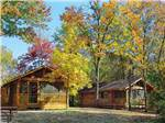 View larger image of Cabins with decks at NESHONOC LAKESIDE CAMP-RESORT image #3