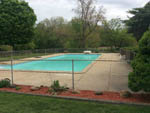 View larger image of Rectangle swimming pool surrounded by chain link fencing at LANSING COTTONWOOD CAMPGROUND image #8