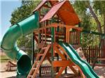 View larger image of Playground with swing set at CANYONLANDS CAMPGROUND image #8