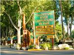View larger image of Sign at entrance to RV park at YELLOWSTONE RIVER RV PARK  CAMPGROUND image #1