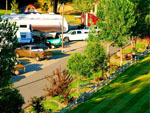View larger image of Aerial view over campground at YELLOWSTONE RIVER RV PARK  CAMPGROUND image #5