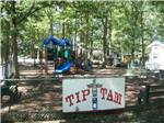 View larger image of Playground with swing set at TIP TAM CAMPING RESORT image #5
