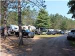 View larger image of Trailers camping at HIAWATHA TRAILER RESORT image #5