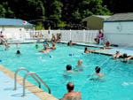 View larger image of People swimming in the pool at WALNUT HILLS CAMPGROUND AND RV PARK image #10