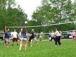 View larger image of Campers playing volleyball at WALNUT HILLS CAMPGROUND AND RV PARK image #11