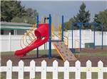 View larger image of Playground with swing set at JANTZEN BEACH RV PARK image #5
