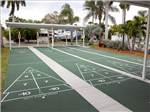View larger image of Shuffleboard courts at GROVES RV RESORT image #9