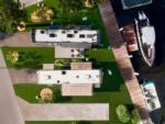 View larger image of The back end of a motorhome parked at YACHT HAVEN PARK  MARINA image #3