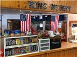 View larger image of Inside of the convenience store at KING NUMMY TRAIL CAMPGROUND image #6