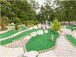 View larger image of Miniature golf course at SEASHORE CAMPSITES  RV RESORT image #7