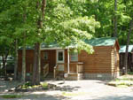 View larger image of Cabin in the trees with deck  at CHRISTOPHER RUN CAMPGROUND image #6