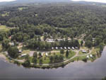 View larger image of Amazing aerial view over resort at LIMEHURST LAKE CAMPGROUND image #4