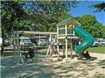 View larger image of Playground with swing set at POMONA RV PARK image #3