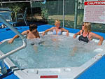 View larger image of People in hot tub at POMONA RV PARK image #4