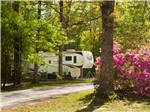 View larger image of Trailer parked in a treed site at TALLAHASSEE EAST CAMPGROUND image #8