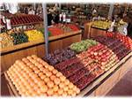 View larger image of Fruit stand with oranges strawberries and apples at CASA DE FRUTA RV PARK image #4