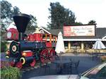 View larger image of Train at coffee shop at CASA DE FRUTA RV PARK image #9