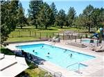 View larger image of Swimming pool at campgrounds at BENDSISTERS GARDEN RV RESORT image #6