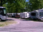 View larger image of Road leading into campground at TRAILSIDE RV PARK  STORE image #4