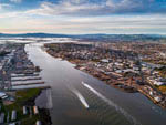 View larger image of A aerial view of a waterway nearby at TRADEWINDS RV PARK OF VALLEJO image #10