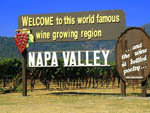 View larger image of A view of the sign entering Napa Valley at TRADEWINDS RV PARK OF VALLEJO image #12