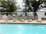 View larger image of Swimming pool at campground at BAR HARBOR RV PARK  MARINA image #3