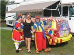 View larger image of Clowns at the campgrounds at TAMIAMI RV PARK image #3