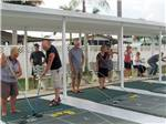 View larger image of Shuffleboard courts at TAMIAMI RV PARK image #5