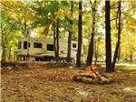 View larger image of Trailer camping at TRANQUIL TIMBERS CAMPING RETREAT image #1