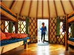 View larger image of Inside lodging at TRANQUIL TIMBERS CAMPING RETREAT image #2