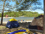 View larger image of Tents camping on the water at CAPE CODS MAPLE PARK CAMPGROUND  RV PARK image #9
