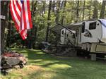 View larger image of One of the wooded RV sites at NATURES CAMPSITES image #4