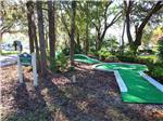 View larger image of Miniature golf course at SHERWOOD FOREST RV RESORT image #9