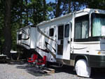 View larger image of Trailers camping at SHADY GROVE CAMPGROUND image #6