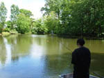 View larger image of Girl fishing at SHADY GROVE CAMPGROUND image #8