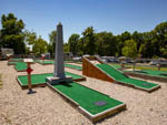 View larger image of The miniature golf course at PLEASANT ACRES FARM RV RESORT image #8